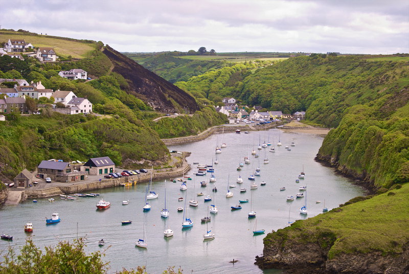Solva Harbour from trail